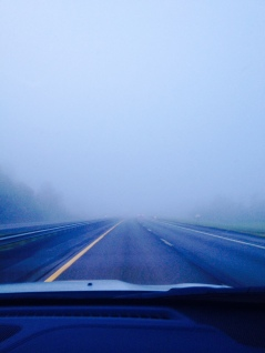 travel, roadtrip, Burlington, East Coast, fog, weather