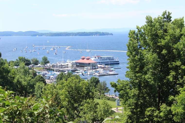 waterfront, burlington, sailing, boats, Lake Champlain, summer