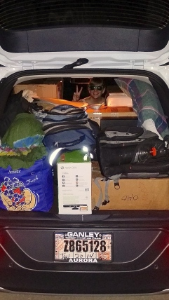 roadtrip, Burlington, Vermont, Travel, Packed, Car, Jeep Cherokee