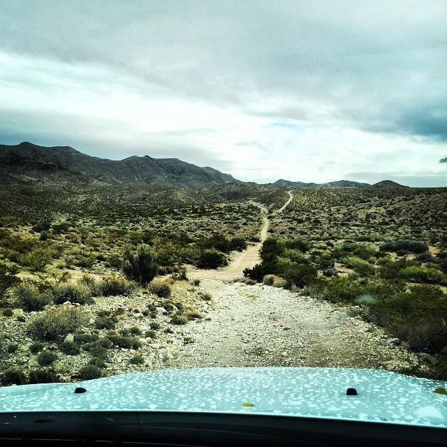 Off-Roading Vehicle Desert New Mexico