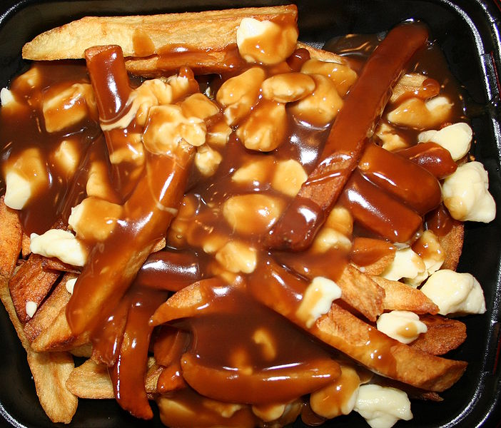 New England Poutine Drunk Food