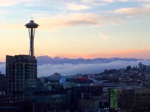 Seattle Washington the Stratosphere