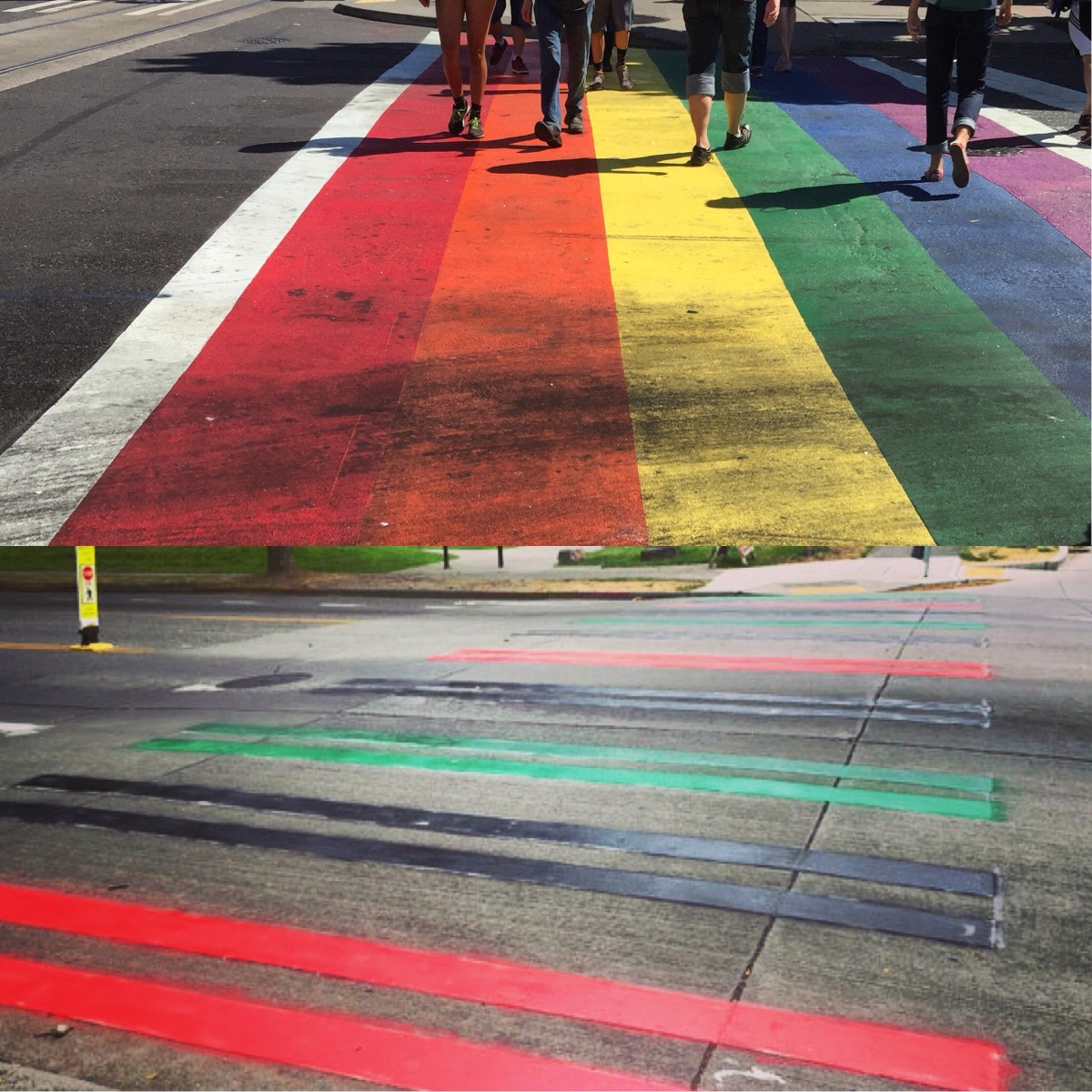 "Capitol Hill's Rainbow Crosswalks Spark ""Rogue"" Crosswalk Painting and Social Dialogue in Seattle"