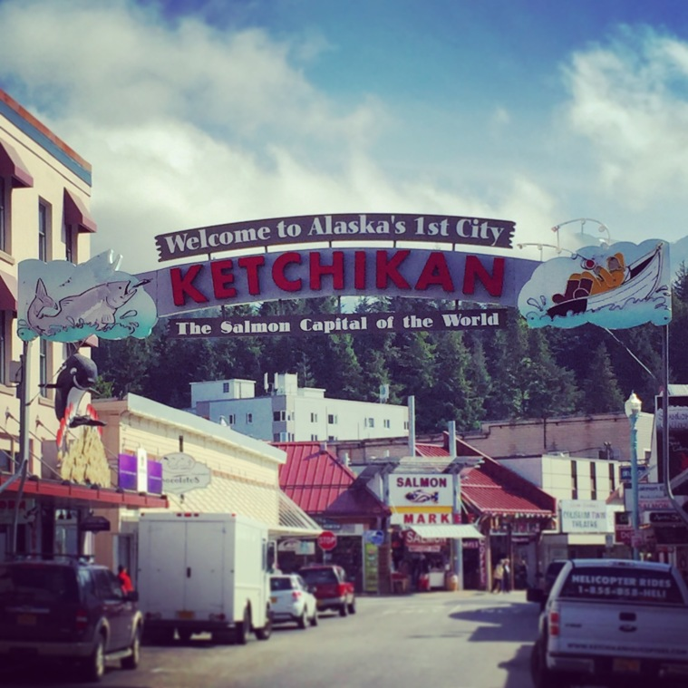 Ketchikan Alaska Inside Passage Cruise