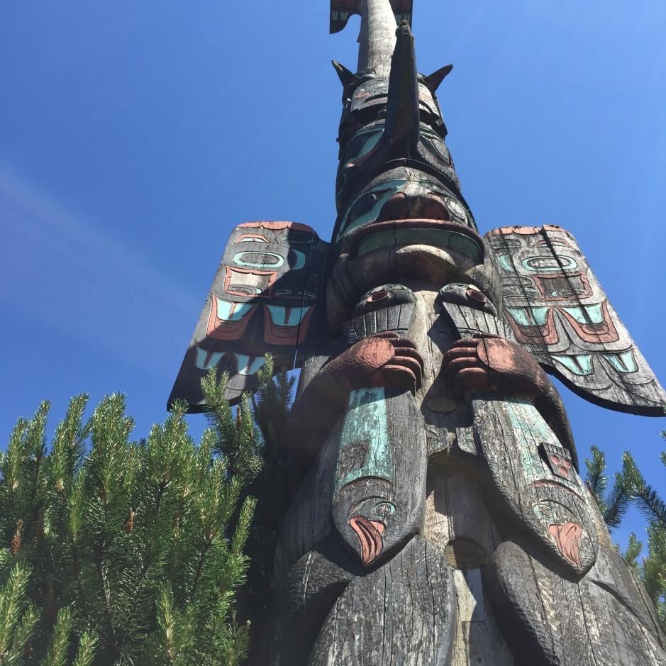 Ketchikan Alaska totem poles