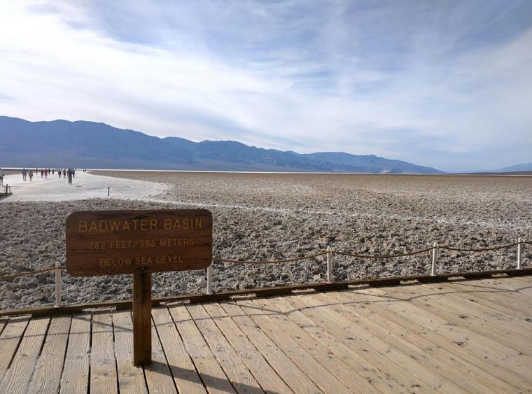 Badwater Basin Death Valley